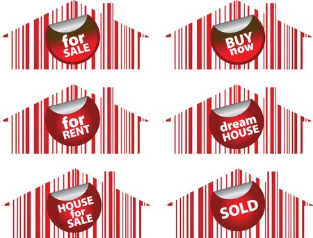 pack of house for sale signs photo