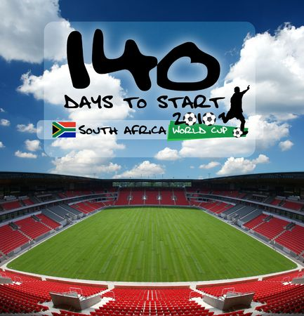 140 days to start soccer world championship