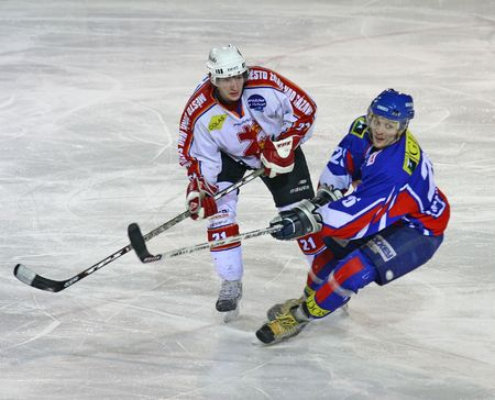 reps: Partido de hockey sobre hielo de ZDAR, Rep�blica Checa - el 2 de febrero: Zdar frente a Novy Jicin, Liga Checa, el 2 de febrero de 2009 Zdar N.S, calificaci�n de final de la Rep�blica Checa 3-2. Editorial