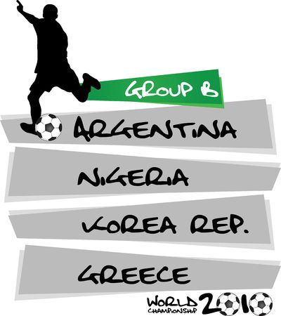 table of group B photo