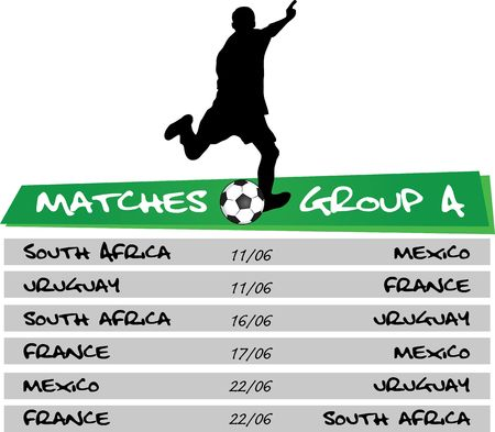 matches of group A
