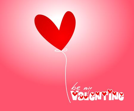 Valentine illustration illustration