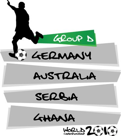 table of group D photo