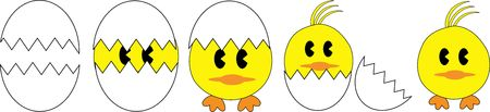 husk: easter chickens