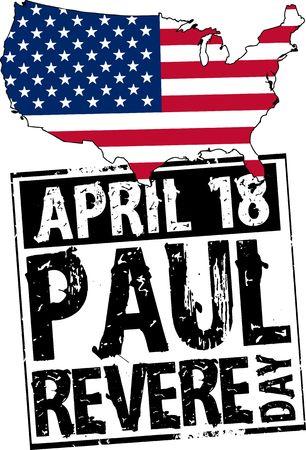 revere: Paul Revere day Stock Photo