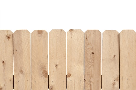 Wooden fence ready for your use