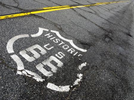 Vintage Route 66 Imagens