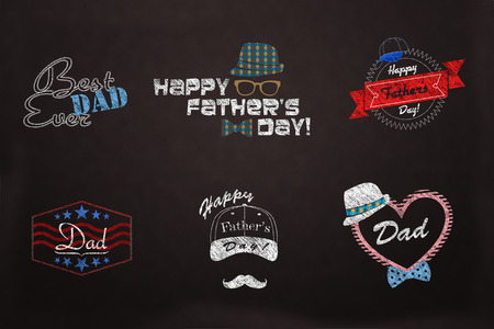 A collection of Happy fathers day designs to fit your needs