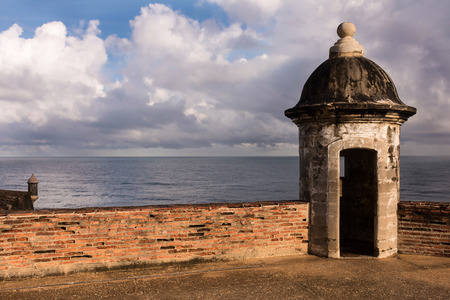 Puerto Ricos Fort San Cristóbal, is a fort in San Juan, Puerto Rico.  Editorial