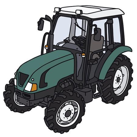 disegno a mano: Disegno a mano di un trattore - non un vero e proprio modello