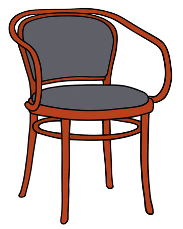 Disegno a mano di una sedia