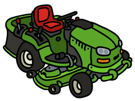 837 Lawn Tractor Cliparts, Stock Vector And Royalty Free Lawn ...
