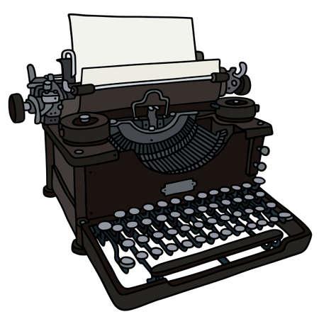 screenplay:  vintage typewriter