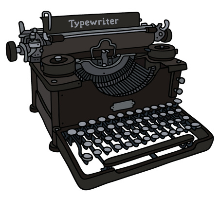 screenplay:  vintage typewriter