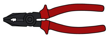 combination: a combination pliers