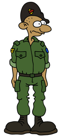trooper: a funny soldier