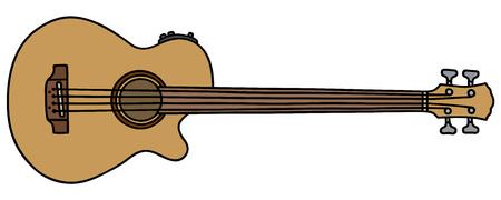 fretless acoustique guitare basse