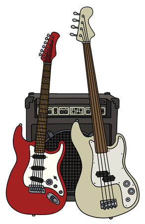 Electric guitars and the combo