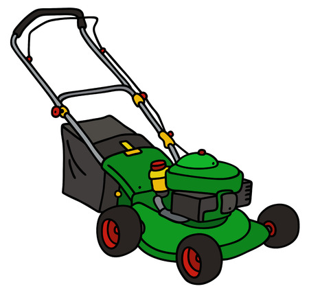3 240 lawn mower cliparts stock vector and royalty free lawn mower rh 123rf com Riding Lawn Mower Clip Art Free Lawn Mowing Clip Art Silhouettes