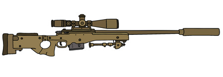 gunsight: Sand sniper rifle
