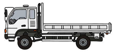 Hand drawing of a small terrain truck