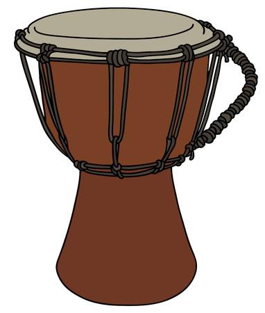 Small primitives drum Illustration