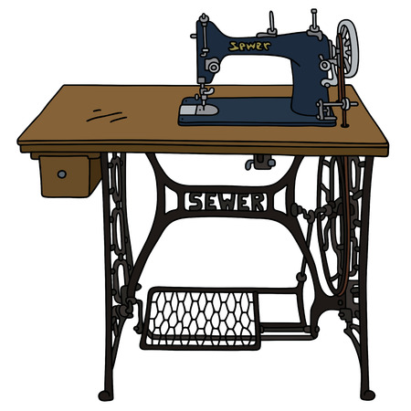 Classic Treadle sewing machine