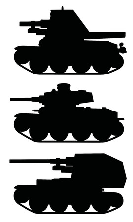 Classic armored tracked vehicles