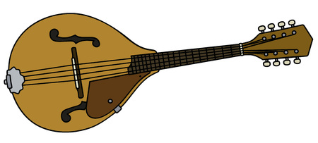 mandolin: Classic country mandolin Illustration