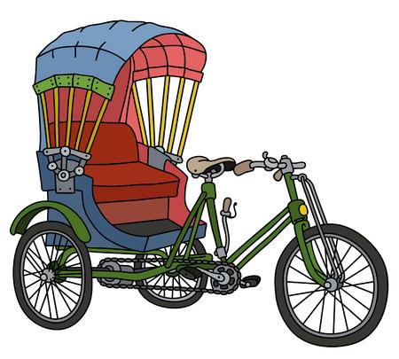 Classic cycle rickshaw