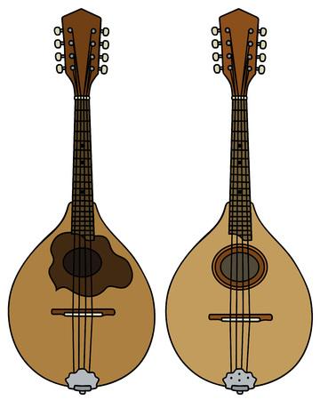 Two classic mandolins