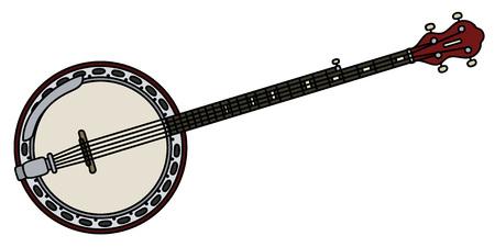 steel drum: Classic five strings banjo