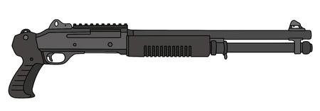 Short pump shotgun