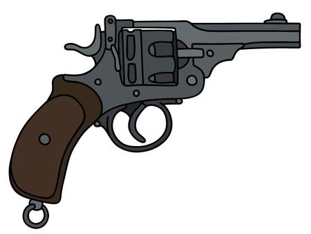 Retro short revolver