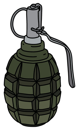The defense hand grenade