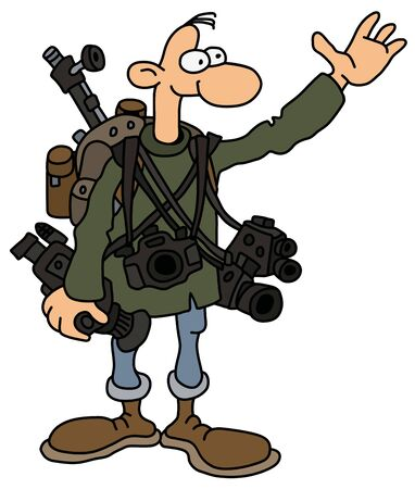 The funny photographer