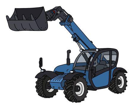 The blue loader