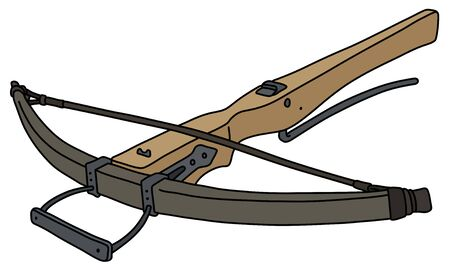 The vintage crossbow