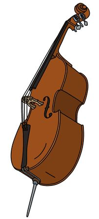 The classic double bass Vettoriali