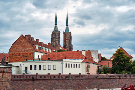 The Cathedral of St. John the Baptist in Wroclaw is the seat of the Roman Catholic Archdiocese of Wroclaw and a landmark of the city of Wroclaw in Poland