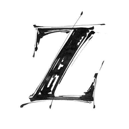 Alphabet symbol - letter Z
