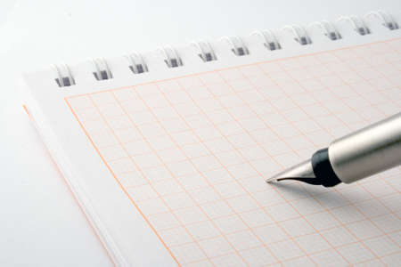 pen & notebook Stock Photo - 3803814