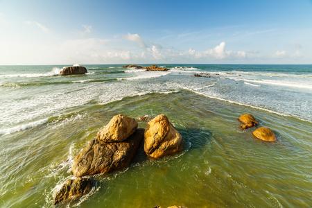Bay of Galle on the southwest coast of Sri Lanka.