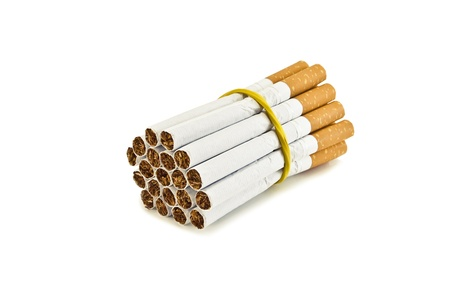 bunch of cigarettes in the photo Stock Photo - 13500894