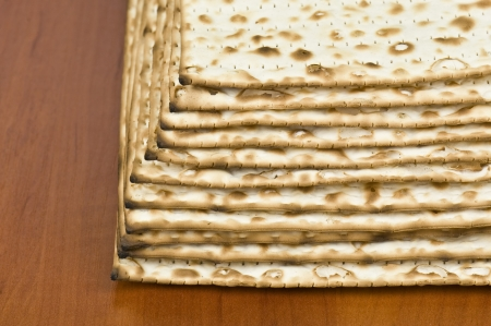 unleavened: unleavened bread in the photo