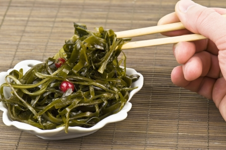 delicious seaweed in the photo