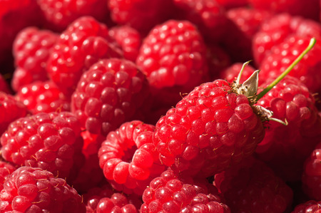 juicy: ripe and juicy raspberry texture