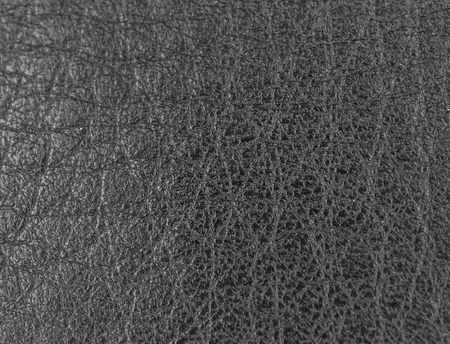 black leather texture: black leather as a texture Stock Photo