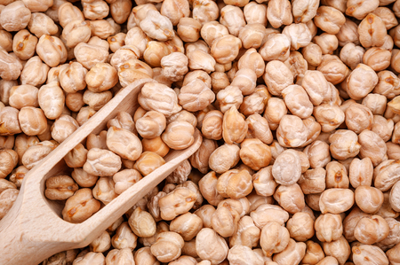 raw chickpeas as a texture