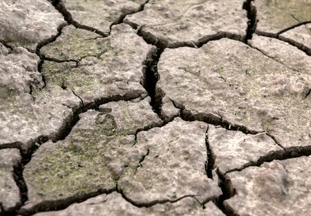 texture of dry cracked soil Banque d'images - 126379927